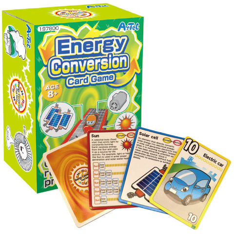 Energy Conversion Card Game Playing Cards By Artec