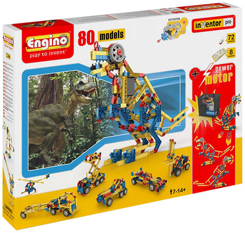 Engino 80 Models Inventor Pro Set with Motor