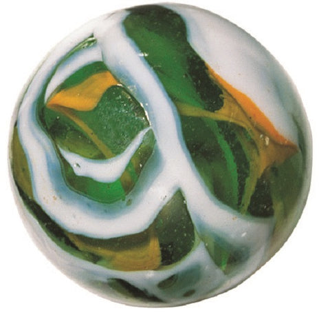 Enormous Glass CRICKET Marble -  50mm by House of Marbles