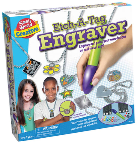 Etch-A-Tag Engraver by Small World Toys