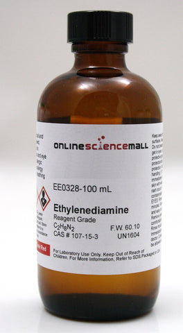 Ethylenediamine, 100mL - Reagent Grade Chemical Reagent