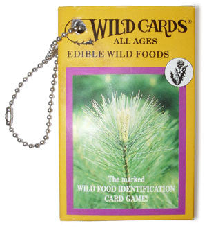 Wild Cards-Edible Wild Foods Playing Cards