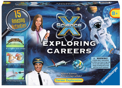 Science X - Exploring Careers Kit - 15 Activities