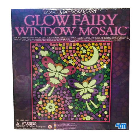 Glow Fairy Window Mosaic Picture Kit by 4M