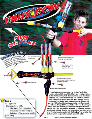 Faux Bow-Archery Launched Missile Kit