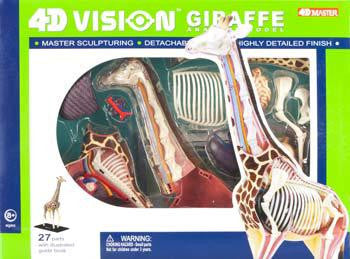 4D Vision Giraffe Anatomy Model 3D CutAway Puzzle Toy