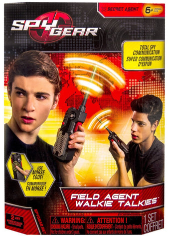 Spy Gear - Field Agent Walkie Talkies