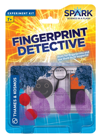 Fingerprint Detective Experiment Kit By Thames and Kosmos