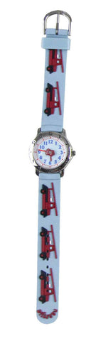 Naartjie Fire Engine Watch Blue Band
