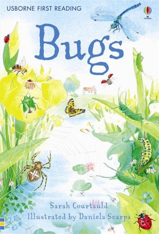 Usborne First Reading Book of  BUGS Internet Referenced