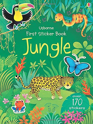 First Sticker Book: Jungle - A Paperback Sticker & Activity Book by Usborne