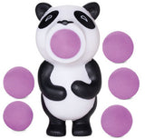 Panda Poppers Bear Shaped Foam Ball Toy Shooter with 6 Foam Balls