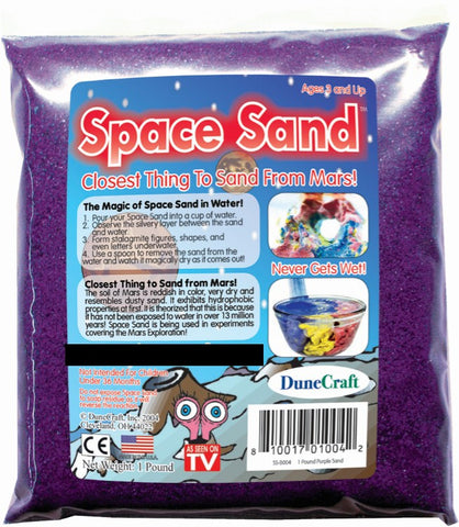Purple Space Sand: 1lb of Hydrophobic Sand