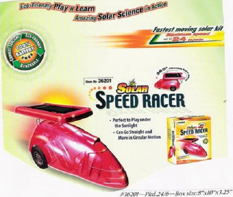 Greenex Solar Speed Racer Activity Eco-Friendly Solar Science: Green Science