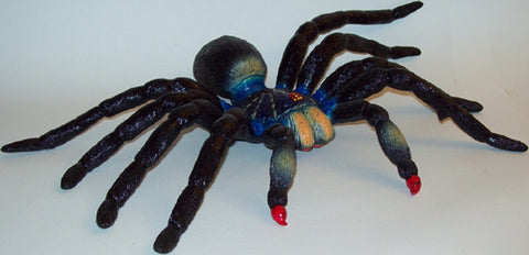17 Inch Realistic Rubber Spider Replica - Large Tarantula - Online Science Mall