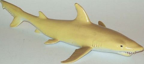 "10"" Realistic Rubber Shark Replica - Tiger Shark - Online Science Mall"