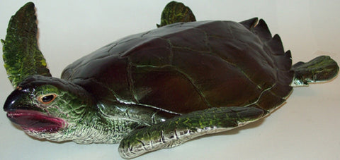 13.5 Inch Realistic Rubber Replica - Sea Turtle - Online Science Mall