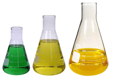 3 Erlenmeyer Glass Flask Set 3 Sizes 250-1000mL