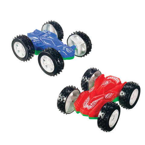 Pair of Double Sided Flip Cars by Toysmith