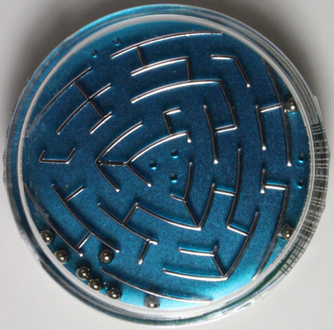 Set of 2 Flipside Labyrinth Maze Puzzles (Colors and Styles Vary)