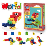 30 Piece Flock of Fun Artec Building Blocks