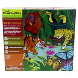 4M Thinking Kit, Friends Of Nature 3D Rainforest Puzzle