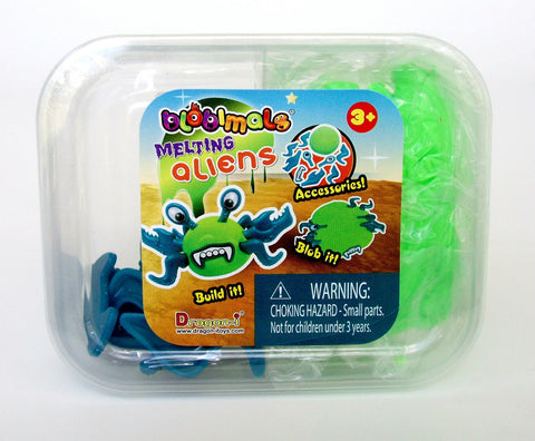 Blobimals Melting Green Alien Flub By Toysmith