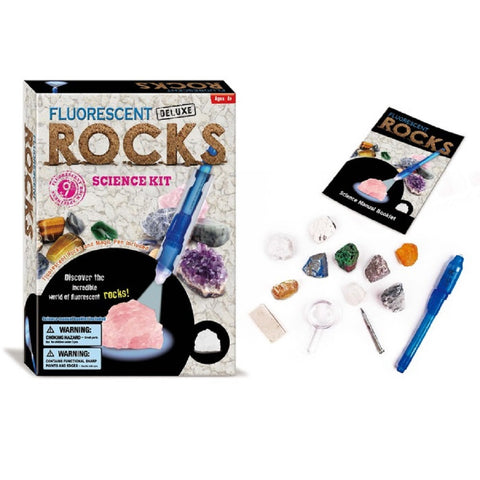 Fluorescent Rocks Science Discovery Kit by TedCo Toys