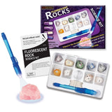 Fluorescent Rocks - Experimental Geology Science Kit