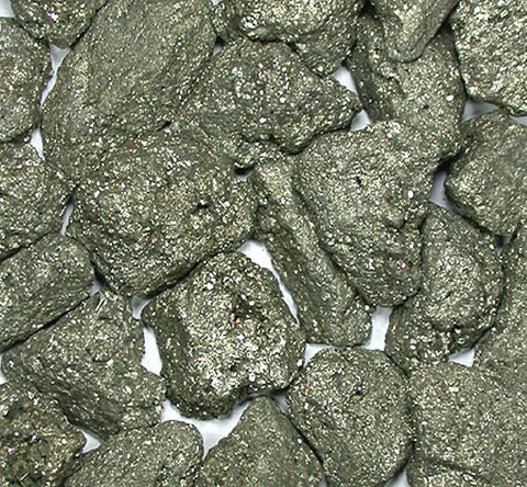 Iron Pyrite: Unpolished Gemstones: Fool's Gold 1 Pound