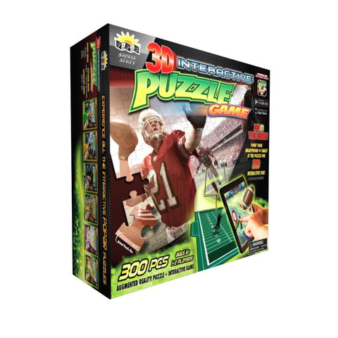 Football 3D Interactive Puzzle & Game 300 Pc