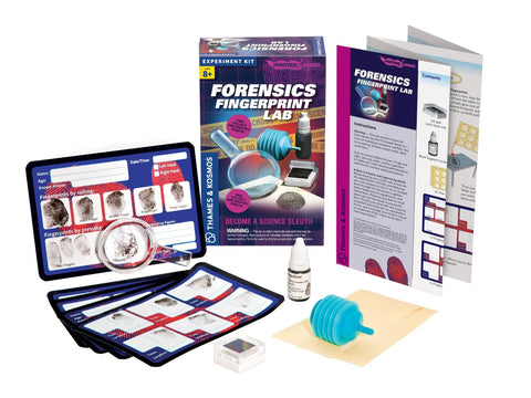 Thames & Kosmos Forensics Fingerprint Lab Experiment Kit