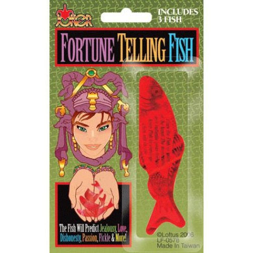 Fortune telling fish pack of three indicates moods and for Fortune teller fish