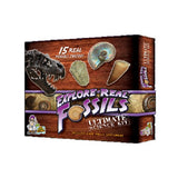 Ultimate Fossil Science Kit - With 15 Real Rare Fossil Specimens