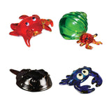 Looking Glass Torch - Ocean Figurines - 4 Different Crabs (4-Pack)