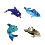 Looking Glass Torch - Ocean Figurines - 4 Different Dolphins(4-Pack)