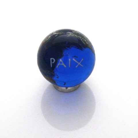 World Peace Earth Marble - French - 22mm