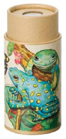 4 inch Kaleidoscope Viewer Toy: Frogs or Toads Nature Scope
