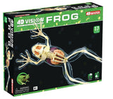 4D Vision Frog Skeleton Anatomy Model 3D CutAway Puzzle Toy