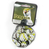Penguin Game Net Set 25 Pc Glass Mega Marbles