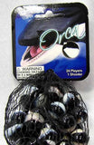 Orca Game Net Set 25 Piece Glass Mega Marbles