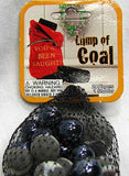 Lump of Coal Marbles Game Net Set 25 Pc Glass Mega Marbles Holiday