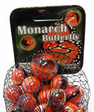 Monarch Butterfly Game Net Set 25 Piece Glass Mega Marbles