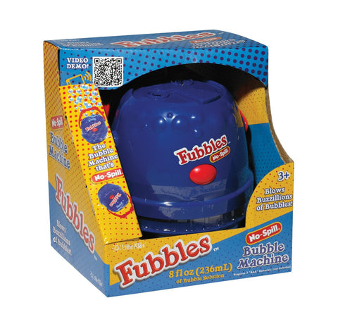 Fubbles No-Spill Bubble Machine Blue By Little Kids