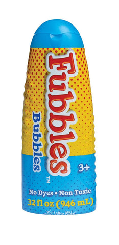 Fubbles Bubbles 32 fl oz Premium Bubble Solution by Little Kids