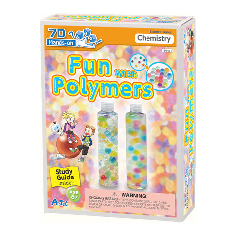 Fun with Polymers Kit and Study Guide By Artec