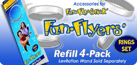FunFlyStick REFILL Rings Set for Magic Levitation Wand