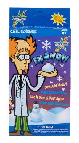 Cool Science: Fx Snow Fake Snow Activity Kit