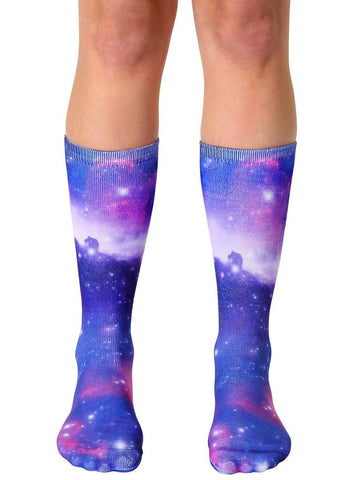 Galaxy Crew Socks OSFM by Living Royal