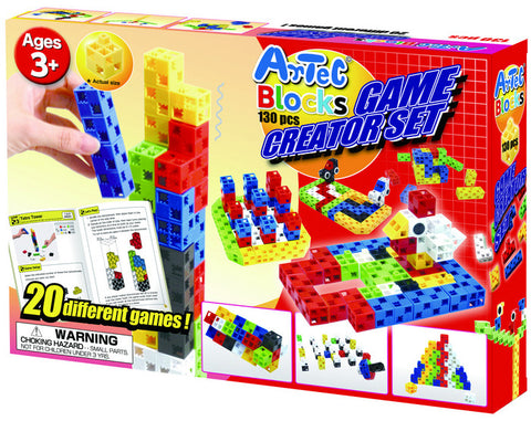 130 Piece Game Creator Set Artec Blocks - Online Science Mall